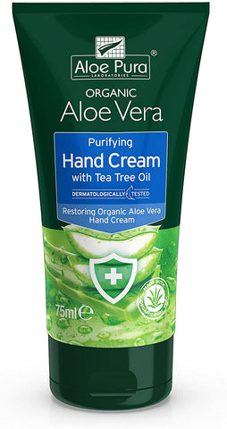 Aloe Pura Anti Bac Hand Cream 75ml