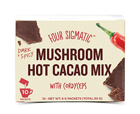 Four Sigma Foods Mushroom Hot Cacao Mix 10 sachet
