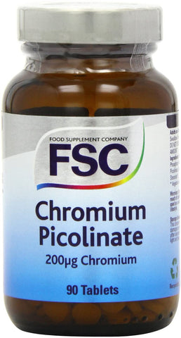 FSC Chromium Picolinate 200Ug 90 Tablets