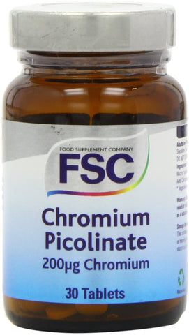 FSC Chromium Picolinate 200Ug 30 Tablets