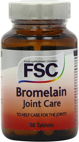 FSC Bromelain Joint Care 60 Tablets