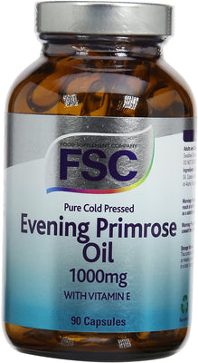 FSC Evening Primrose Oil 1000Mg 90 Softgel Capsules