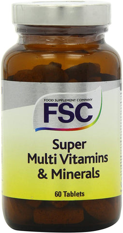 FSC Super Multi Vitamins & Minerals 60 Tablets