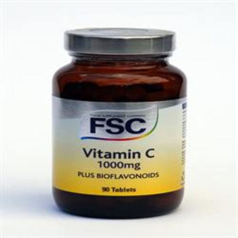 FSC Vitamin C 1000Mg + Bioflavonoids 90 Tablets