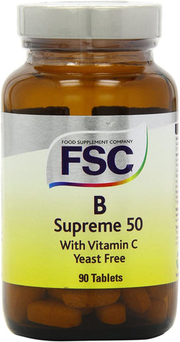 FSC Vitamin B Supreme 50+C 90 Tablets