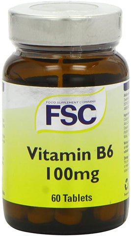FSC Vitamin B6 100Mg 60 Tablets