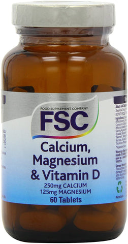 FSC Calcium 250Mg + Magnesium + D 60 Tablets