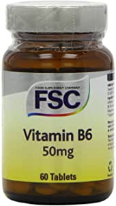FSC Vitamin B6 50Mg 60 Tablets