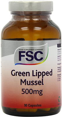 FSC Green Lipped Mussel 500Mg 90 Capsules