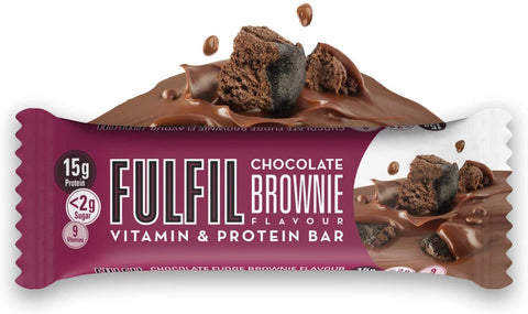 FULFIL CHOCOLATE BROWNIE 40G (Pack of 5)