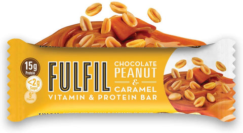 FULFIL PEANUT & CARAMEL  40G (Pack of 5)