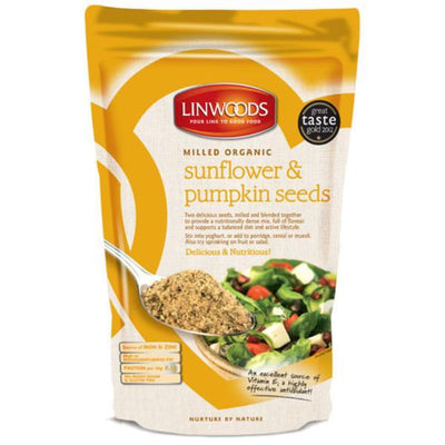 Linwoods Organic Milled Organic Sunflower and Pumpkin Seeds 425g