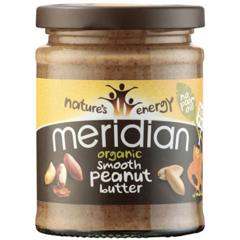 Meridian Organic Smooth Peanut Butter No Salt 280g