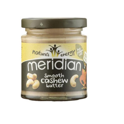 Meridian Natural Smooth Cashew Butter 170g