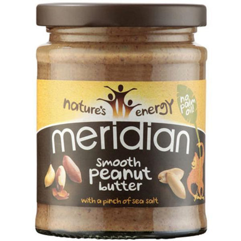 Meridian Smooth Peanut Butter + Salt 280g