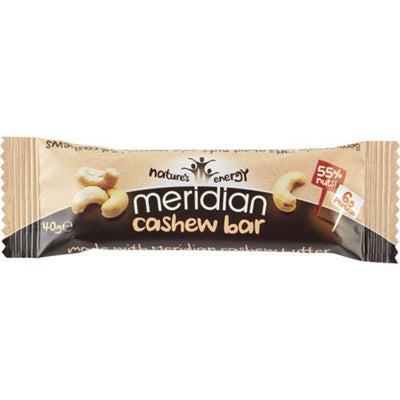 Meridian Cashew Bar 40g (Pack of 18)