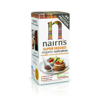Nairns Organic Super Seeded Oatcakes 200g