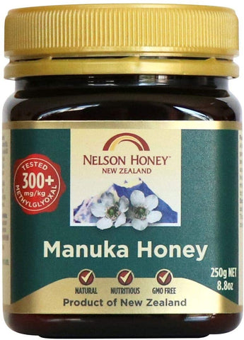Nelson Honey New Zealand Manuka Honey (300+) 250g