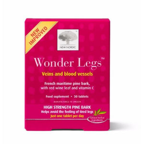 New Nordic Wonder Legs Natural Supplement (30 Tablets)