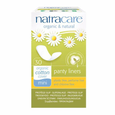 Natracare Mini Pantyliners 30 Pieces