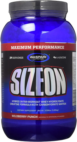 Gaspari Nutrition SizeOn - Maximum Performance, Wild Berry Punch - 1632g