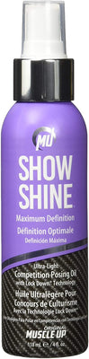 Pro Tan Show Shine, Maximum Definition Ultra Light Competition Posing Oil Spray - 118 ml.