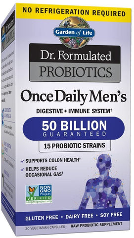 Garden of Life Dr. Formulated Probiotics Once Daily Men's - 30 vcaps