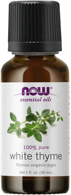 NOW Foods Essential Oil, White Thyme Oil - 30 ml.