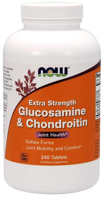 NOW Foods Glucosamine & Chondroitin Extra Strength - 240 tabs