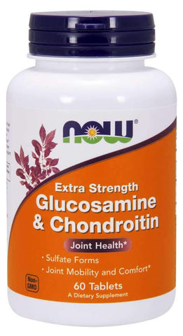 NOW Foods Glucosamine & Chondroitin Extra Strength - 60 tabs