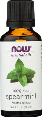 NOW Foods Essential Oil, Spearmint Oil - 30 ml.