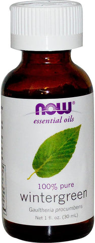 NOW Foods Essential Oil, Wintergreen Oil - 30 ml.