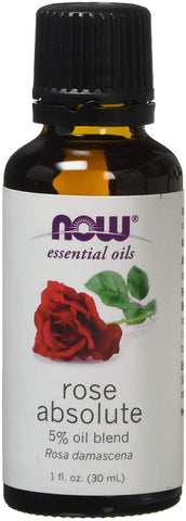 NOW Foods Essential Oil, Rose Absolute Oil - 30 ml.