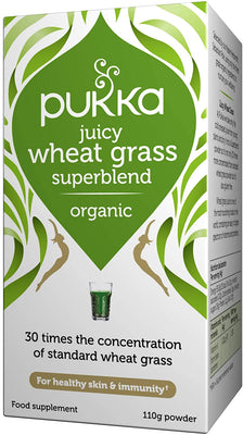 Pukka 110g Organic Wheatgrass Juice Powder