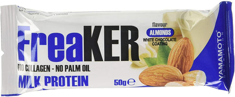 Yamamoto Nutrition FreaKER, Almonds with White Chocolate Coating - 20 x 50g