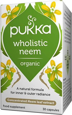 Pukka Herbs Cleansing - Wholistic Neem 30 Caps