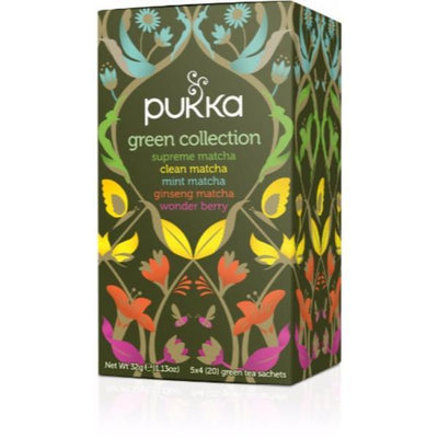 Pukka Green Collection Tea 15 Bags (Pack of 4)