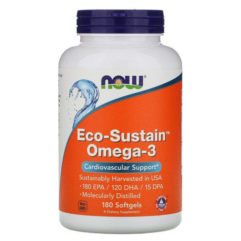 NOW Foods Eco-Sustain Omega-3 - 180 softgels