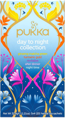 Pukka Day to Night Collection 20 Tea Bags