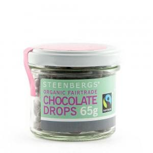 Steenbergs Organic Chocolate Drops 65g