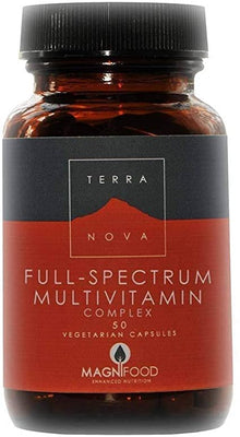 Terranova Full-Spectrum Multivit Cmplx 50caps