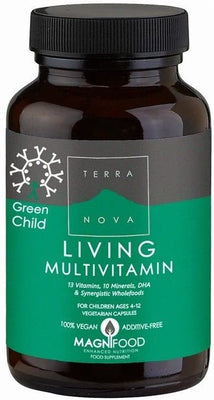 Terranova Nutrition Green Child Multivitamin 100 Capsules