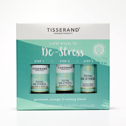 Tisserand The Little Box of De-Stress(3x10ml)