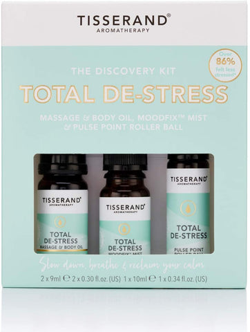Tisserand The Total De-Stress Discovery Kit 3pack