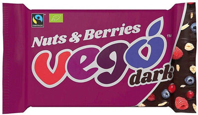 Vego Dark Nuts & Berries 85g (Pack of 12)