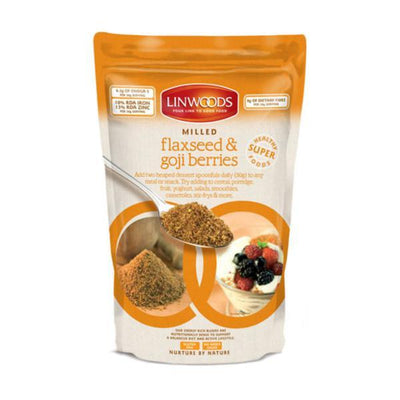 Linwoods Milled Organic Flaxseed and Goji Berries 425g