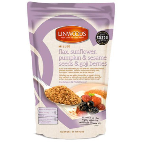 Linwoods Flaxseed with Sunflower seeds, Pumpkin seeds, Sesameseeds & Goji Berries 425g