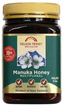 Nelson Honey New Zealand Manuka Honey (30+) 500g