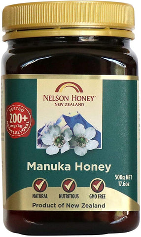 Nelson Honey New Zealand Manuka Honey (200+) 500g