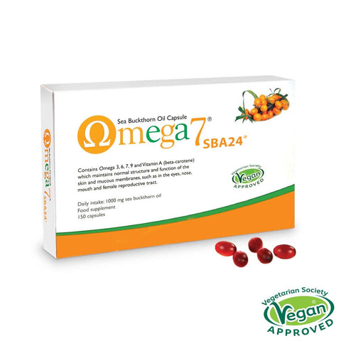 Pharma Nord Omega 7 - Sea buckthorn oil (omega-3, 6, 7 & 9) 150 caps